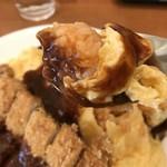 洋食の藤 - デミグラスソースと抜群のマッチング(2018.3.10)