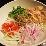 Gaienumaya - しゃきしゃき大根とじゃこのサラダ
