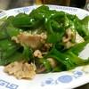 金華 - 料理写真:肉ピーマン炒め