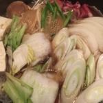 もん善別館 - 野菜も美味かったですよσ(^_^;)
