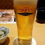凛や - 生ビール