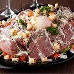 俺のやきとり - 牛炙りのシーザーサラダ
