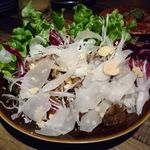 82218155 - マグロのほっぺた肉グリルのツナサラダ