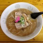 めし 一 - 醤油ラーメン(500円)
