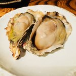 品川牡蠣入レ時 - 焼き牡蠣。
