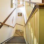 みささガーデンホテル - 1階 ⇔ 2階 階段