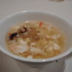 82221413 - 蟹肉と豆腐のとろみスープ