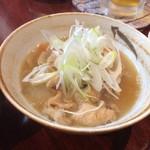 もんちゃん - モツ煮