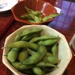もんちゃん - 枝豆