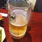 もんちゃん - 生ビール(呑んじゃった)