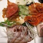 82223468 - 夕食の中華コーナーの前菜