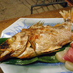 田楽 - 赤メバル串焼