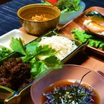 ondo - 夏期限定ランチ〈龍頭そうめん&スヌイの二色冷やし麺〉