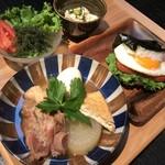 ondo - 秋冬限定ランチ〈そばだしおでん定食〉