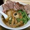 黒船 - 料理写真:【(限定)秋刀魚だしラーメン 三陸あわびトッピング】¥1000