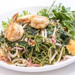 パクチー グリーンパッタイSET(タイサラダ&生春巻&スープ)