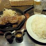 バクテキ 渋谷 1st - 黒毛牛200gビフテキ690円