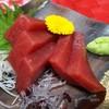 鉢鮪赤身のお刺身