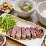 タイスタイル 牛肉のグリルSET(単品:1200円)