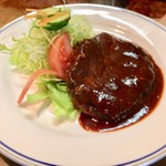 グリル竹 - ハンバーグステーキ