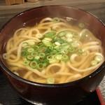 薩摩うどん - 小うどん +150円(税別)