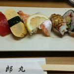 太郎丸 - 太郎丸天盛セットのお寿司(並)