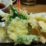太郎丸 - 天盛セットの天ぷら