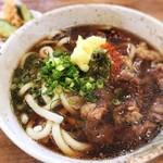 肉うどん 直 - 料理写真: