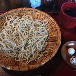 蕎麦 降松 - 蕎麦定食 冷たい蕎麦