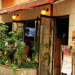 CAFE RIGOLETTO - 入り口です