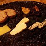 ウタカタ - チーズの盛り合わせ