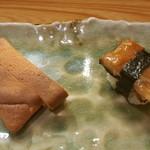 すし追 - 卵焼きと鰻