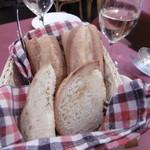 レストラン クレール - パン2人分