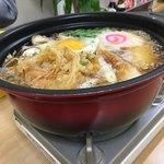 82241675 - 鍋焼きうどん(550円)