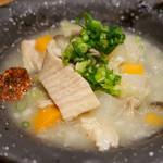 博多筑紫口 肉寿司 - 塩もつ煮込み