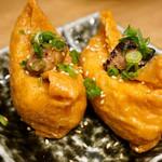 博多筑紫口 肉寿司 - 上稲荷。