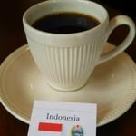 カザーナ・コーヒー - ドリンク写真:LCFマンデリン