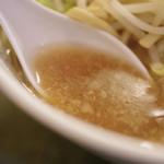 ラーメン二郎 - スープ