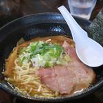 濃麺 海月 - 料理写真:鶏濃麺醤油750円