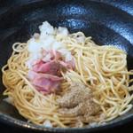 濃麺 海月 - 和え玉200円