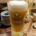 回転寿司 ぱさーる - ビール