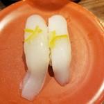 回転寿司 ぱさーる - いかユズ塩 180円