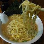 横浜げんき亭 - 中太ストレートツルツル麺