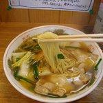 山田中華 - 麺の太さ
