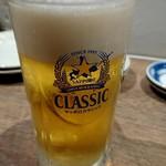 82250225 - 生ビール(クラシック)486円