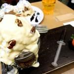 Makkusuburenachokoretoba - ホワイトメルティングチョコレートサンデー