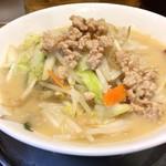 富士タンメン - 定番の鶏白湯タンメン