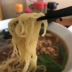 台湾料理 龍香 - 麺はこんなん