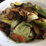 台湾料理 龍香 - 回鍋飯はこんなんやけど 濃いそうな感じ