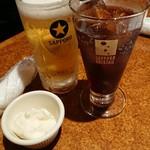 ソンブレロ アラン - ビールとコーラとお通し